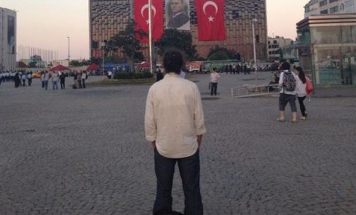 "Middle East Today: Turkey — The ""Standing Man"" Protest"