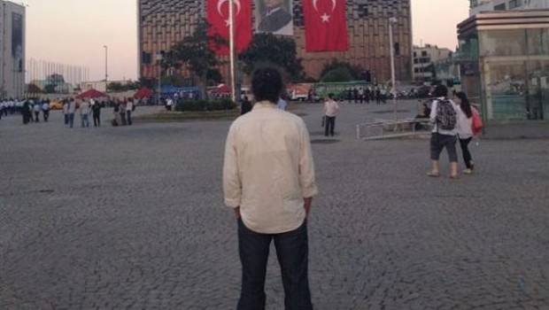 TURKEY 17-06-13 STANDING MAN PROTEST