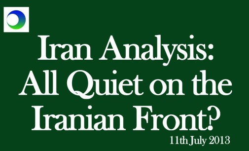 Iran Video: 3 Reasons Why It's Far From Quiet After the Election
