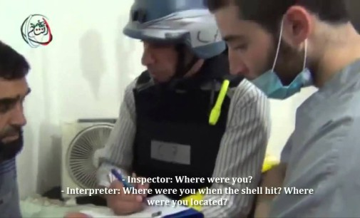 Syria Video: Eyewitnesses Tell UN Inspectors Of Chemical Weapons Attacks (English Subtitles)