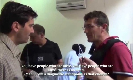 """Syria Video: UN Inspectors In Zamalka Field Hospital – """"If Anything Tests Positive, It Will Show"""""""