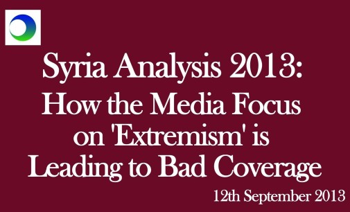 """Syria Video Analysis: How Media Obsession with """"Extremism"""" Misleads Us"""