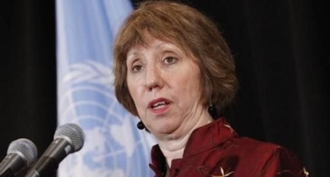 """Iran: Regime Gives """"Wet Gunpowder Award"""" to EU's Ashton"""
