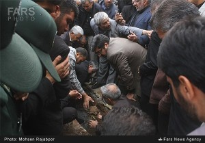 IRGC Zadeh funeral