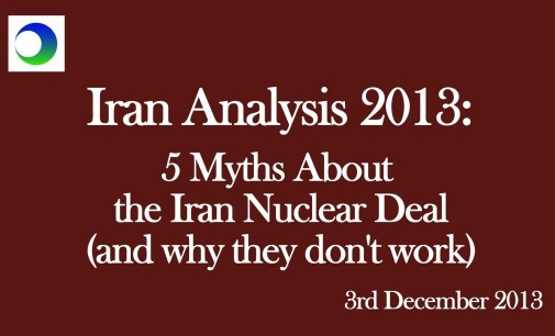 5 Myths About the Nuclear Deal & The Lessons From Them