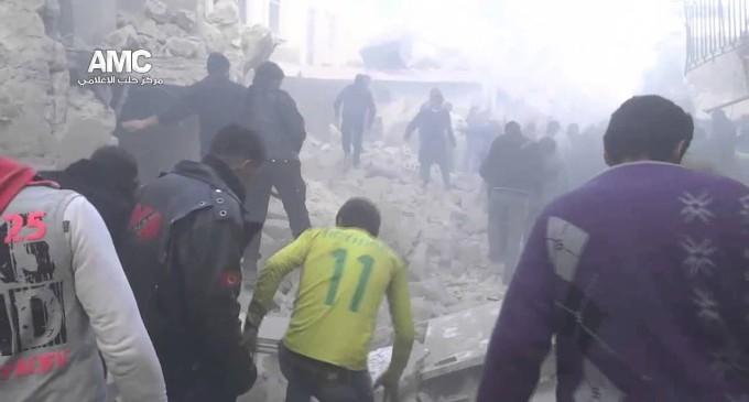 Syria Today, Dec 18: Regime Continues Deadly Bombing of Aleppo