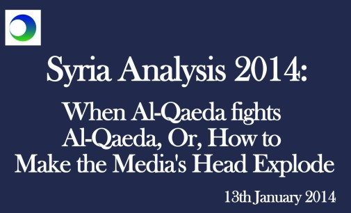 """Syria: When """"Al Qa'eda"""" Fights """"Al Qa'eda"""""""