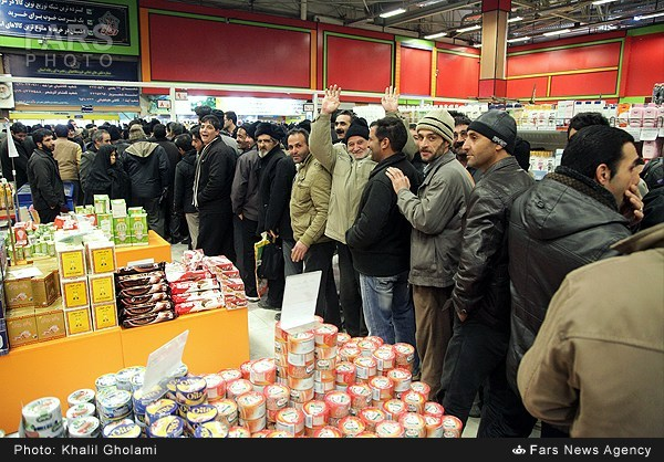 IRAN FOOD QUEUES 3