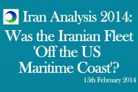 "Iran Video Analysis: Is Tehran's Fleet ""Just Off the US Coast""?"