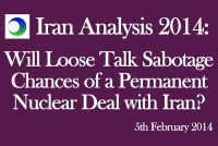 Iran: Will Loose Talk Sabotage Chances of a Nuclear Deal?