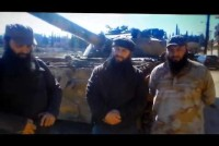 "Syria Video: Chechen-Led Jaish al-Muhajireen wal-Ansar ""Giving Aid To Syrians"" In Kafr Hamra, Near Aleppo"