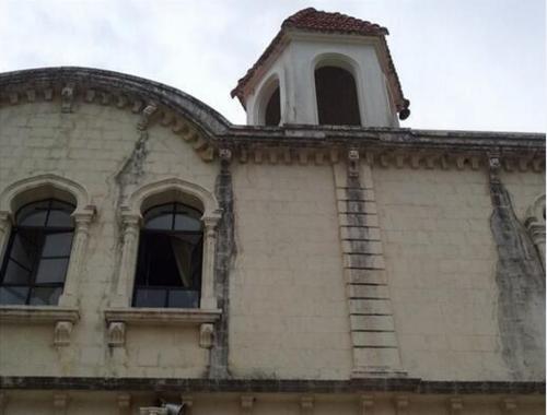KESSAB CHURCH CROSS REMOVED