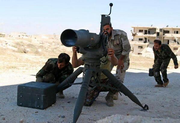 SYRIA US TOW MISSILES