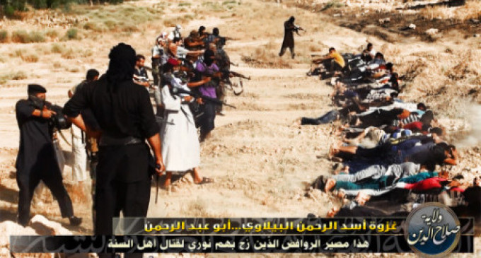 Iraq in Images: Islamic State of Iraq Celebrates Mass Execution of Shia Detainees