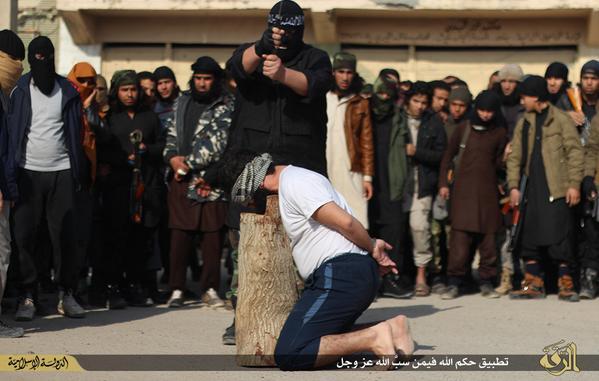 ISLAMIC STATE EXECUTION RAQQA