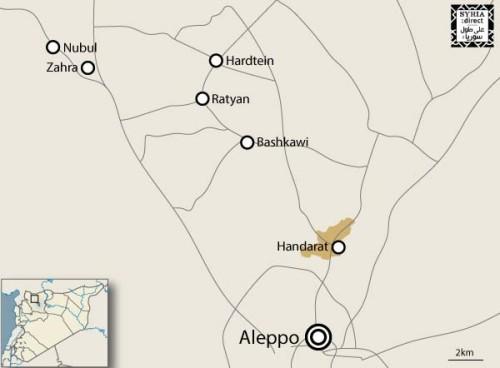MAP ALEPPO AREA