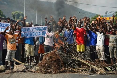 BURUNDI PROTEST