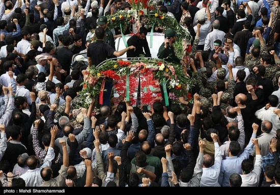 IRAN SOLDIERS FUNERAL