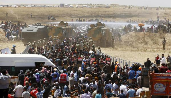 REFUGEES TEL ABYAD SYRIA 2