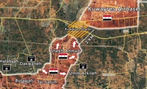 Syria Daily, Nov 10: Regime Lifts Islamic State's Siege of Airbase Near Aleppo