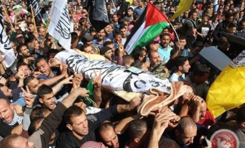 Palestine Daily, Nov 1: Israel To Release Bodies of Palestinians Killed in Hebron