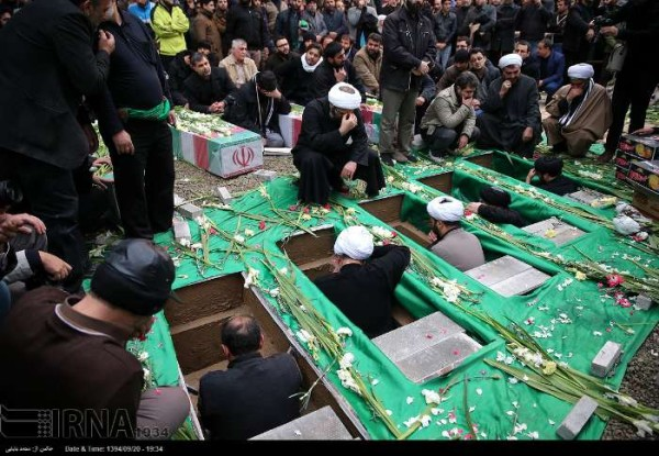 IRAN FUNERALS SYRIA SOLDIERS