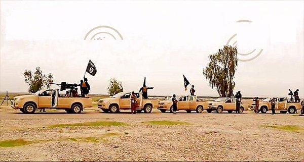 ISIS FIGHTERS LIBYA