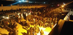 Syria Daily: 10,000s of Refugees Trapped at Turkey Border