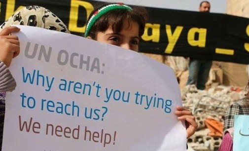"""Syria Feature: """"Kneel or Starve"""" — Besieged Darayya Faces Defeat"""