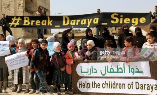 Syria Feature: Regime Military Advances In Besieged Darayya Near Damascus