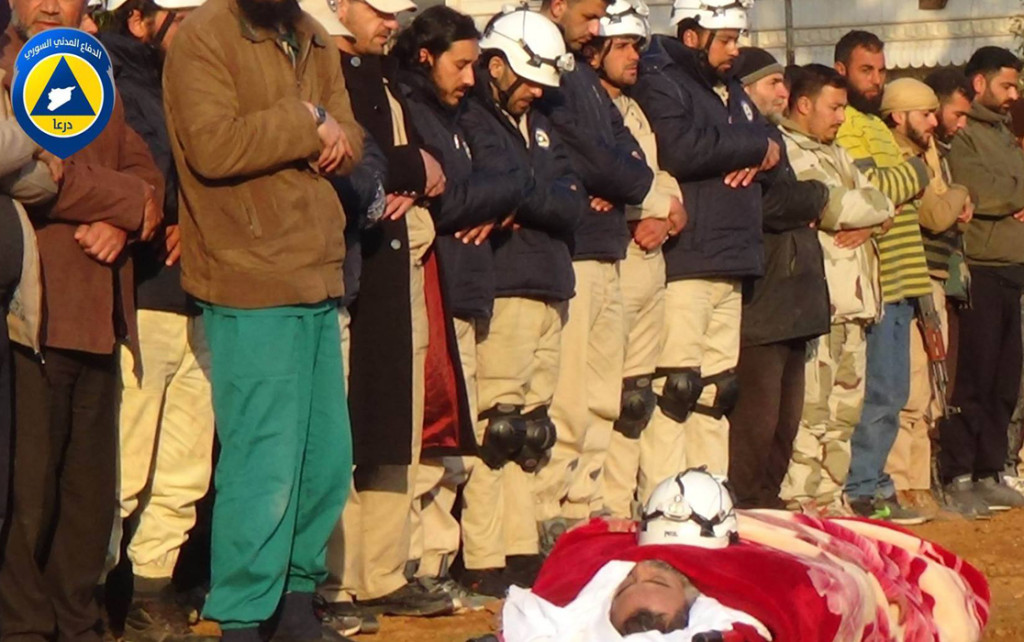 SYRIA MOURNING CIVIL DEFENSE DEATH 02-16