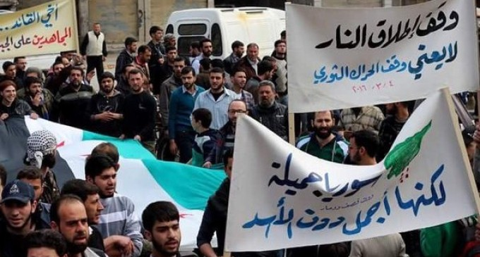 Syria Video Feature: Opposition Rallies Across the Country