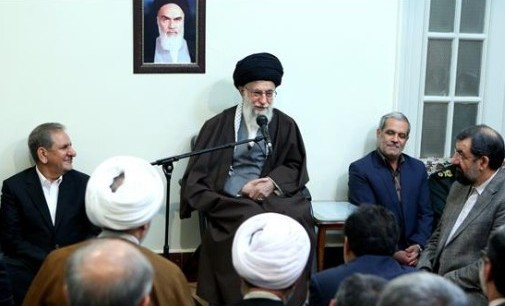 Iran Daily: Supreme Leader Maintains Pressure on Rouhani