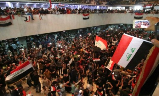 Iraq Feature: Protesters Take Over Parliament