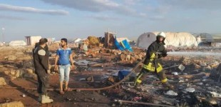 """Syria Feature: """"War Crime"""" as 30+ Killed in Strike on Refugee Camp"""