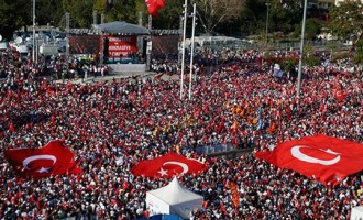 Turkey Feature: Ruling and Opposition Parties in Post-Coup Rally