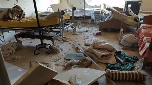 IDLIB HOSPITAL DESTRUCTION 08-16