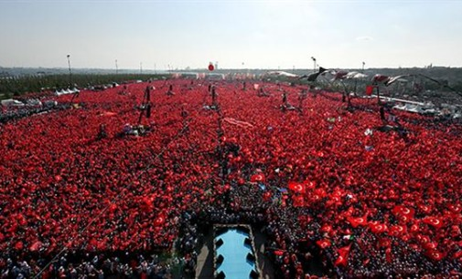 Turkey Feature: More than 1 Million Rally in Istanbul Behind Government
