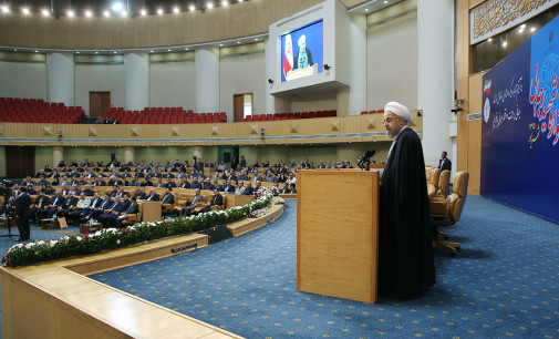 Iran Daily: Rouhani Points to Corruption — But Doesn't Name Names