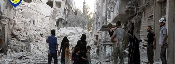 Syria Daily: Assad Burns Aleppo