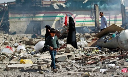 Yemen Feature: 1/3 of Saudi Airstrikes Are on Civilian Sites, Report Finds