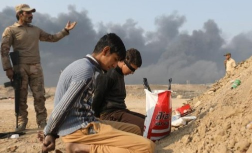 Iraq Feature: Iraqi Forces Try To Advance South of Mosul