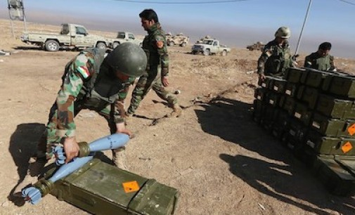 Iraq Feature: Kurdish Forces Move on Key Town North of Mosul