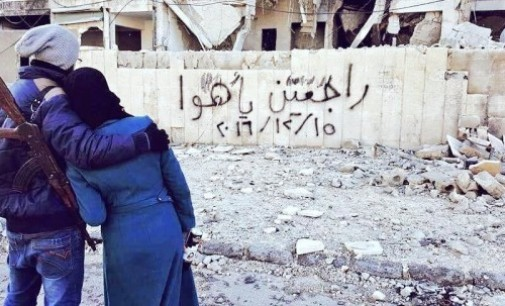 "Syria Feature: Voices from East Aleppo — ""I Hope We Will Return Victorious"""