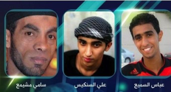 Bahrain Feature: Regime Executes 3 Detainees