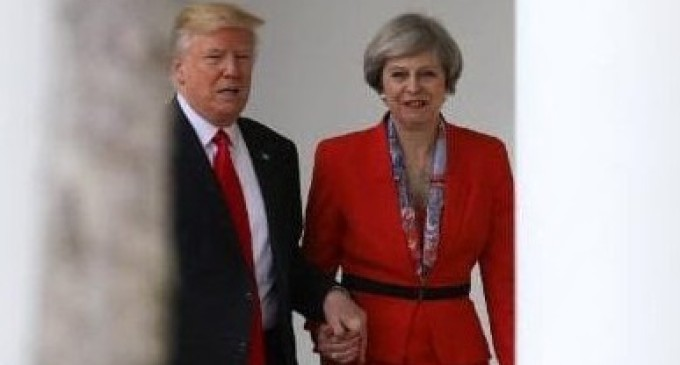 """US & Britain Analysis: May Meets Trump — A """"Special Relationship"""" Pose to Hide Problems"""