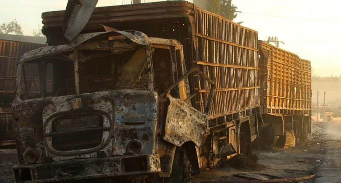 UN Report — Assad Regime Bombed Our Convoy, Carried Out Aleppo Chemical Attacks