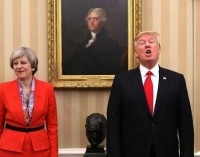 Britain Analysis: No Way Back for PM May After Betting on Trump