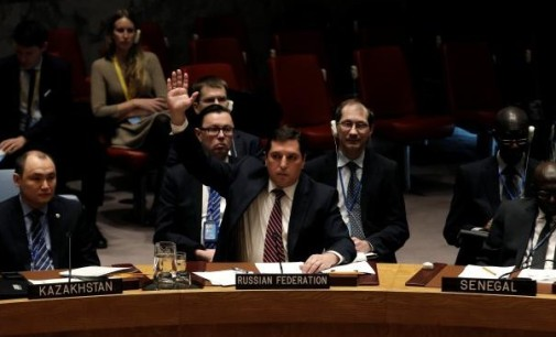 Syria Daily: Russia Blocks UN Resolution on Chemical Weapons