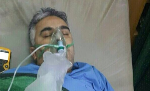 "Regime's ""Suspected Chlorine Attack"" on Hospital in Syria's Hama Province"